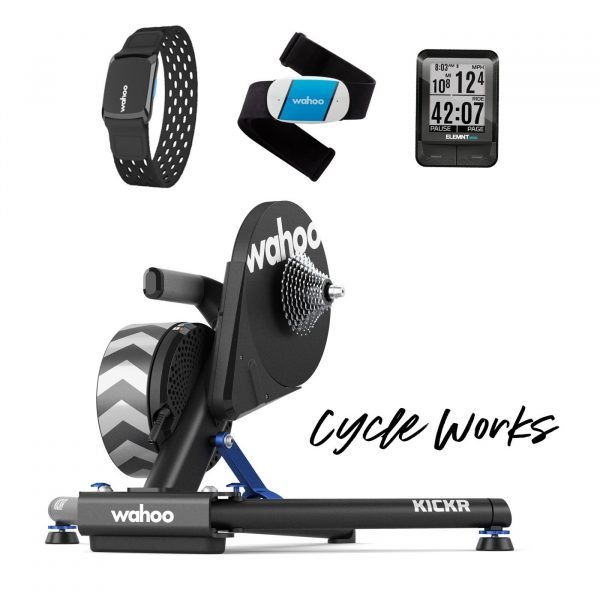 Wahoo KICKR Smart Turbo Trainer at Cycle Works Pembrokeshire - Road and Triathlon Cycling Servicing and Wahoo Dealership in West Wales.