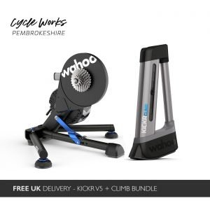 Wahoo KOM Bundle - Wahoo KICKR + CLIMB Bundle at Cycle Works Pembrokeshire