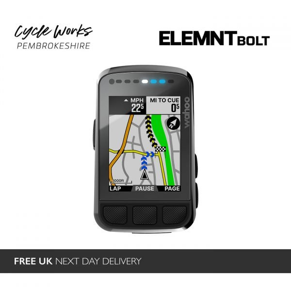 Wahoo ELEMNT Bolt Version 2 Cheap at Cycle Works Pembrokeshire
