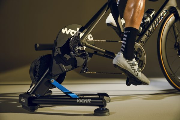 Wahoo KICKR at Cycle Works Pembrokeshire - Road and Triathlon Cycling Servicing and Wahoo Dealership in West Wales.