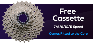 Free Cassette with Wahoo KICKR CORE