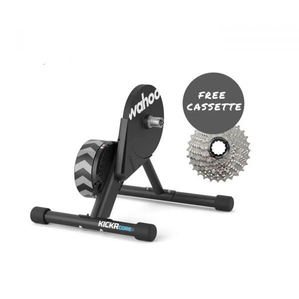 Wahoo KICKR Core with free cassette at Cycle Works Pembrokeshire - Road and Triathlon Cycling Servicing and Wahoo Dealership in West Wales.