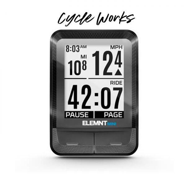 Wahoo ELEMNT Mini at Cycle Works Pembrokeshire - Official Wahoo Dealer