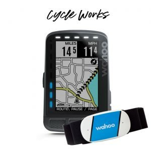 Wahoo ROAM with Wahoo TICKR Heart Rate Sensor Bundle at Cycle Works Pembrokeshire GPS Cycling Computer