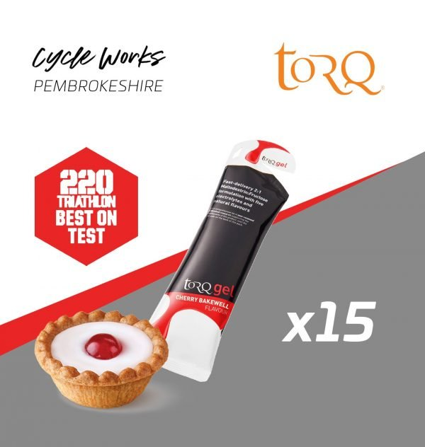 Torq Energy Nutrition Apple Cherry Bakewell Cycle Works Pembrokeshire, Wales