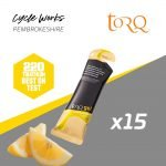 Torq Energy Nutrition Lemon Drizzle Cycle Works Pembrokeshire, Wales