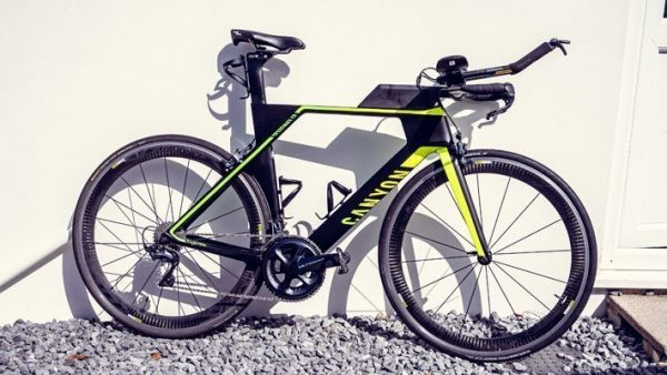 Canyon Speedmax CF at Cycle Works Pembrokeshire, Wales