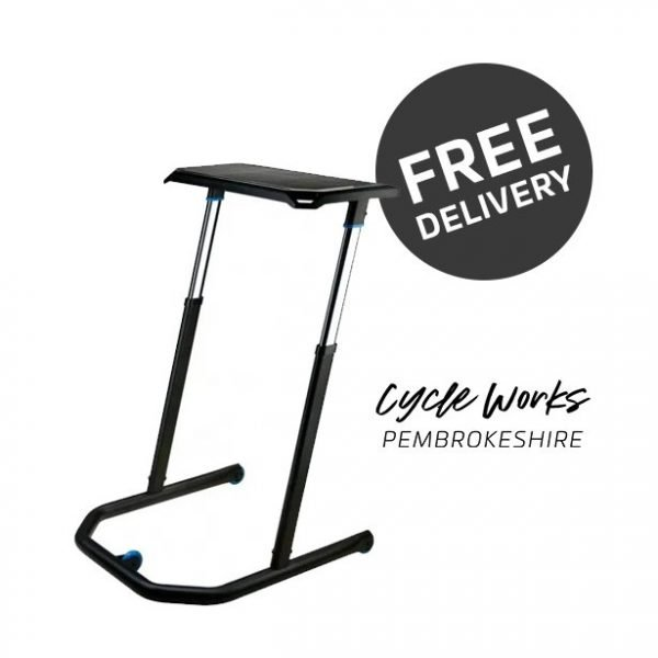 Wahoo KICKR Desk at Cycle Works Pembrokeshire, Wales - Wahoo Dealers