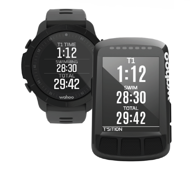 Set up your RIVAL and ELEMNT Bike Computer to automatically share data between devices during a triathlon, so that you can view your race on both devices.