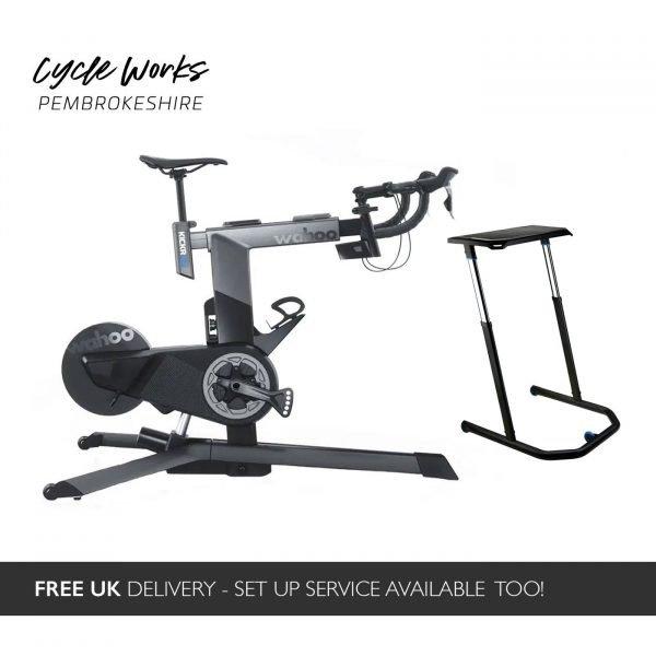 Wahoo KICKR Bike Free Desk Cycle Works Pembrokeshire